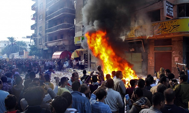 Egyptian Protestors Attack Muslim Brotherhood Offices, Army Refuses to Intervene