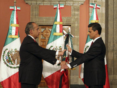 Enrique Peña Nieto Sworn In As Mexico's President
