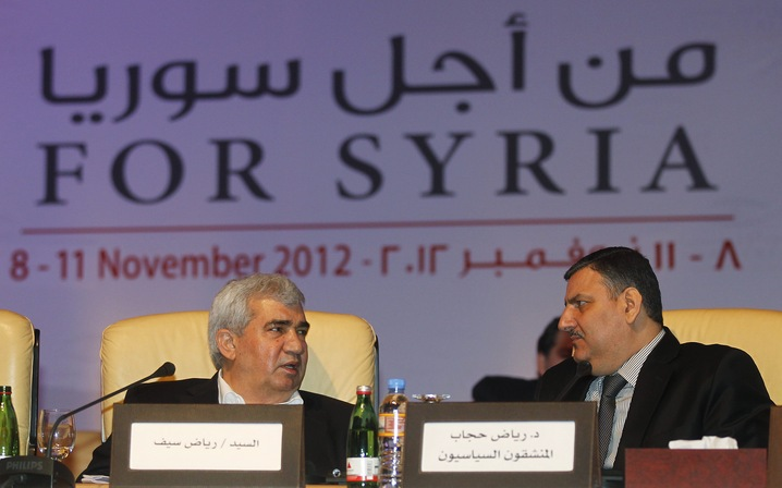 US Recognizes Syrian Opposition Coalition