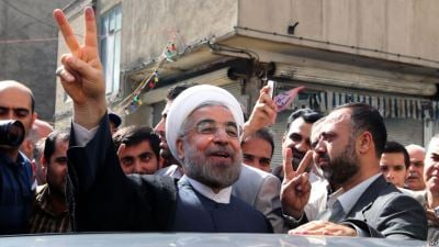 In First Round Landslide, Rouhani Elected President of Iran