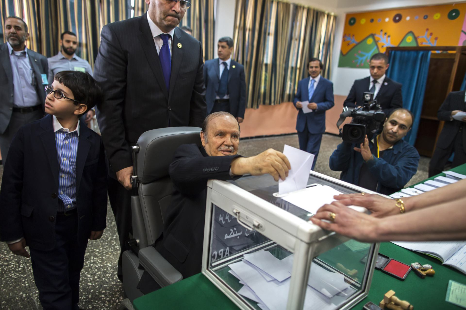 Elderly Bouteflika Re-Elected in Algeria, as Search Continues for Capable Successor
