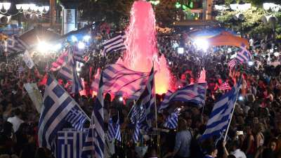 Greek Voters Reject Bailout
